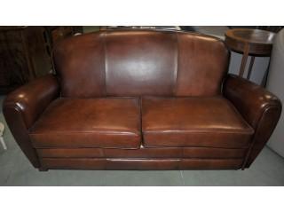 Ensemble 2 pièces fauteuils CLUB neufs en cuir