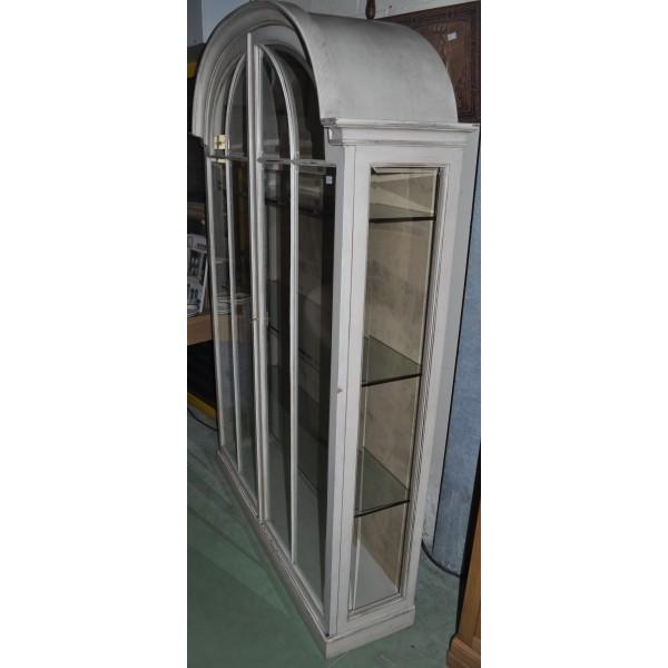 vitrine de magasin enti rement vitr e patin e ancienne. Black Bedroom Furniture Sets. Home Design Ideas