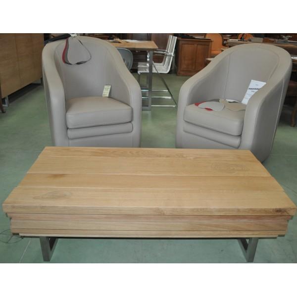table basse contemporaine design italien 100 ch ne massif. Black Bedroom Furniture Sets. Home Design Ideas
