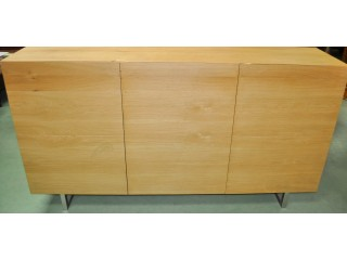 Buffet contemporaine Design Italien chêne massif